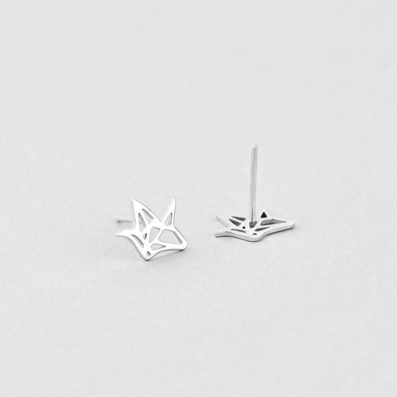 Серьги Оригами купить
