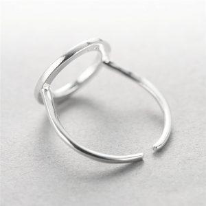серебрянные Кольцо Мечтательный круг фото 9