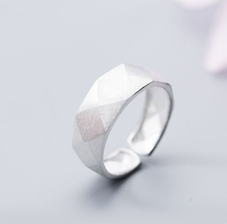 серебрянные Кольцо Грани фото 12