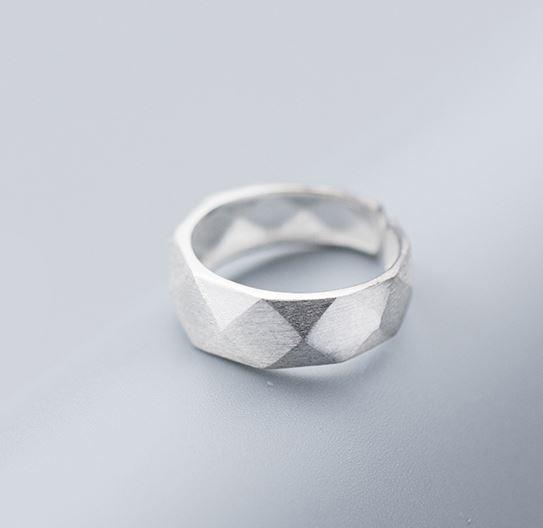 серебрянные Кольцо Грани фото 10