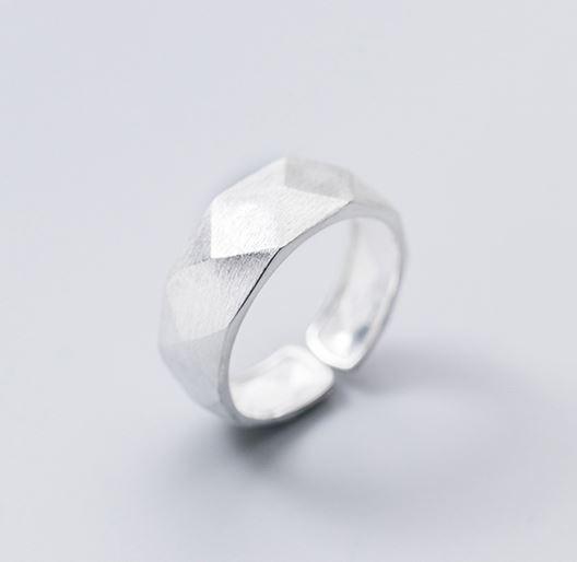 серебрянные Кольцо Грани фото 9