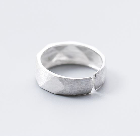 серебрянные Кольцо Грани фото 8