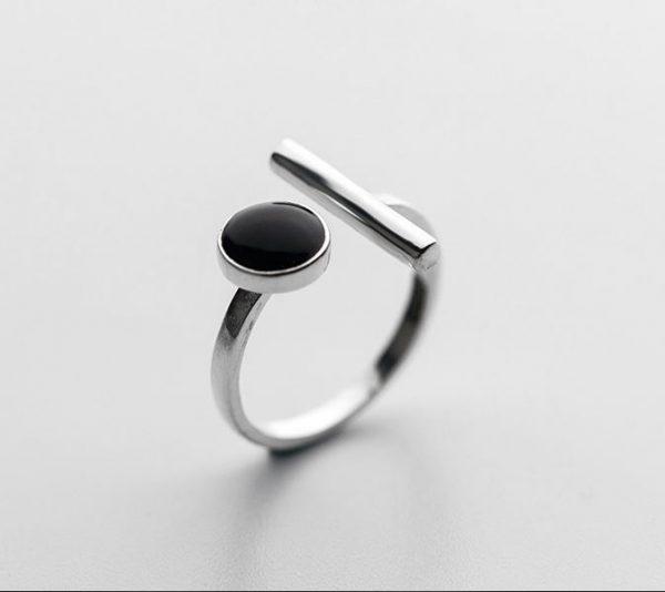 серебрянные Кольцо Сочетание фото 2