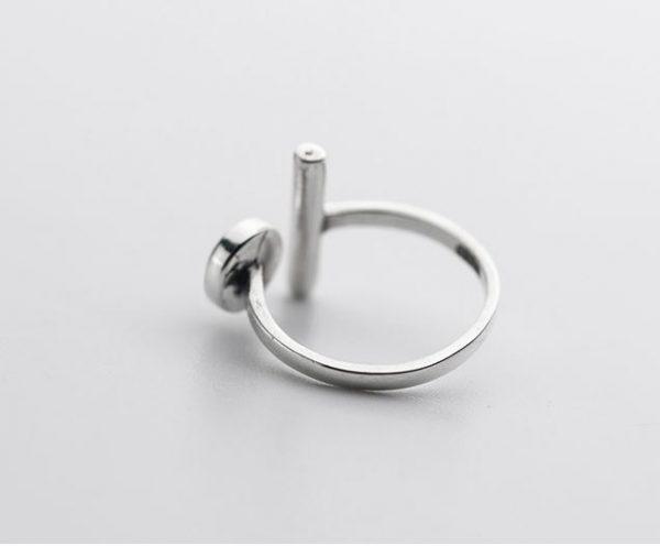 серебрянные Кольцо Сочетание фото 3