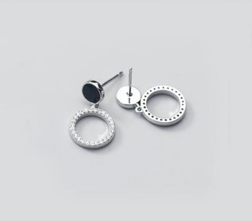серебрянные Серьги С тобой фото 4