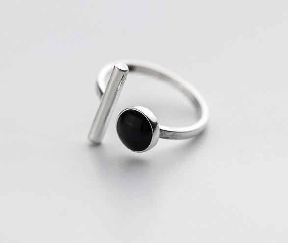 серебрянные Кольцо Сочетание фото