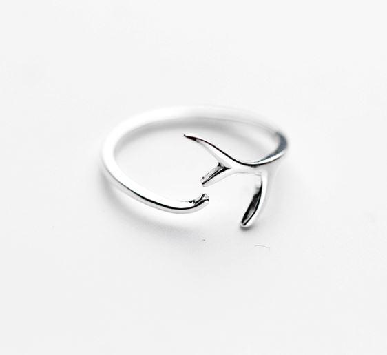 серебрянные Кольцо Рожки фото 3