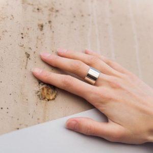 серебрянные Кольцо Завораживание фото 3