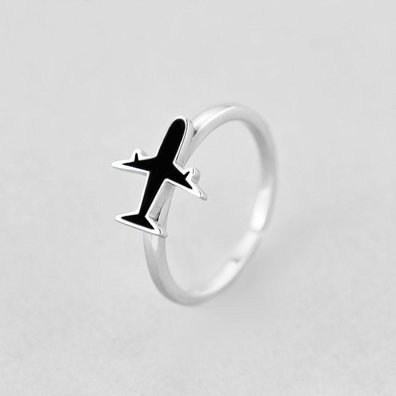 Кольцо Самолетик недорого