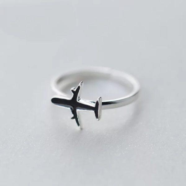Кольцо Самолетик купить