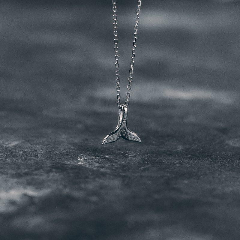 Підвіска Срібний кит недорого