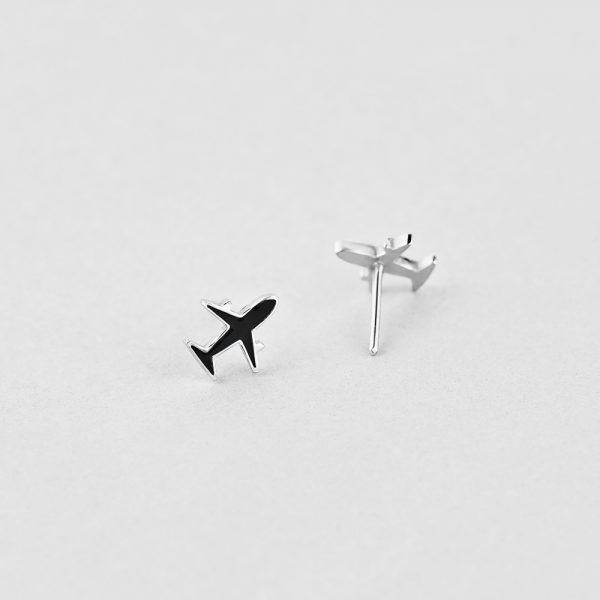 Новинки - Серьги Самолетик