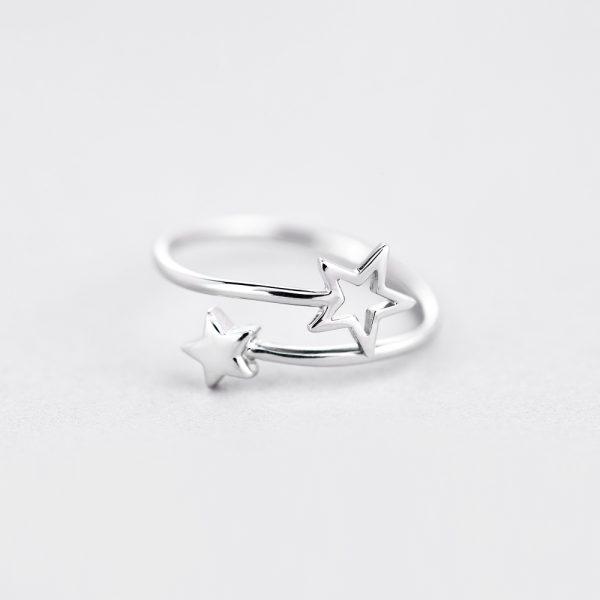 Кольцо Звездная пара купить