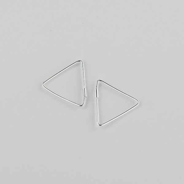 Серьги Треугольник купить