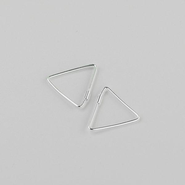 Серьги Треугольник недорого