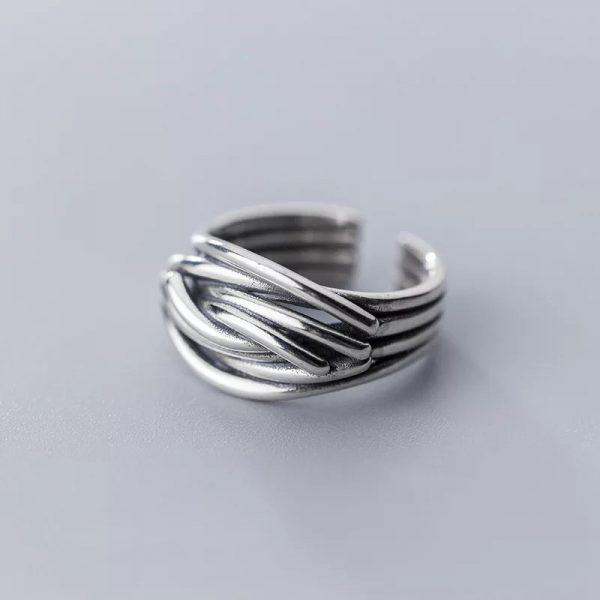 Кольцо Линии недорого