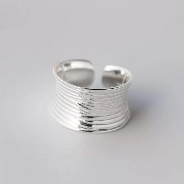Кольцо Линейная Текстура купить