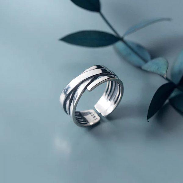 Кольцо Теплые Линии недорого