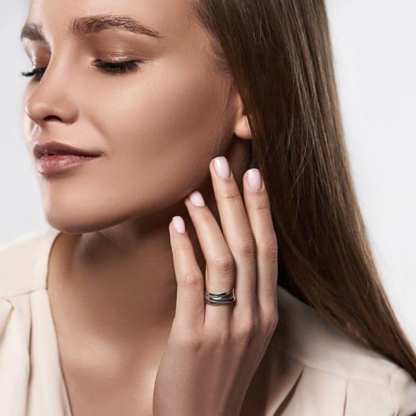 Кольца - Кольцо Теплые Линии