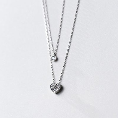 Подвеска Серебряное сердце купить