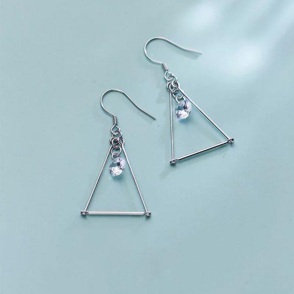Серьги Таинственный Треугольник купить