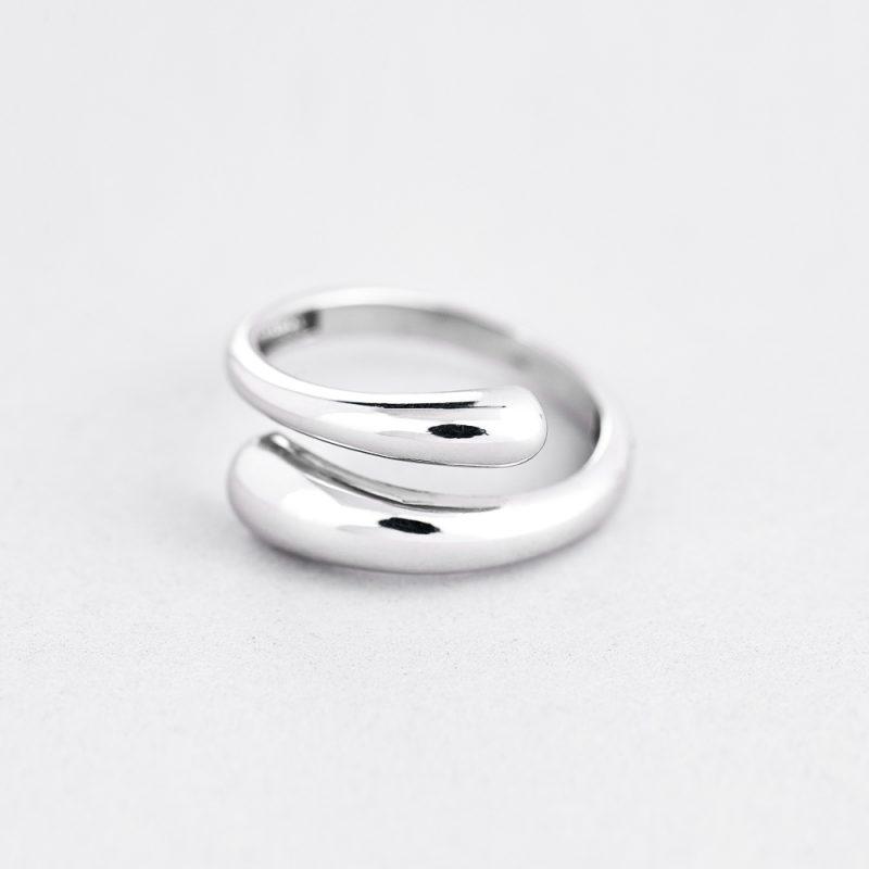 Кольцо Две капли недорого