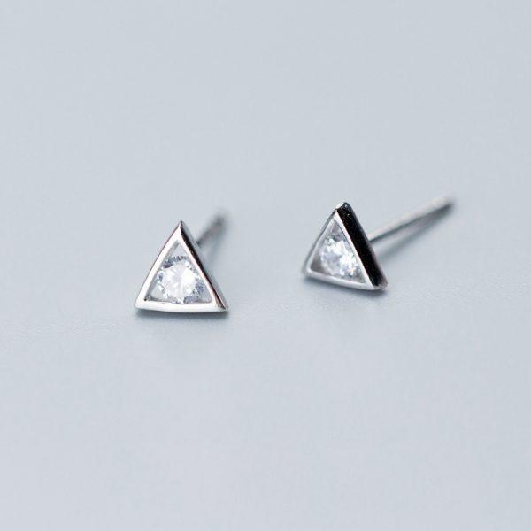 Серьги Таинственность Треугольника недорого