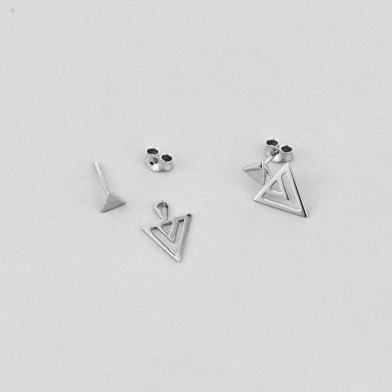 Сережки Витончений Трикутник купить