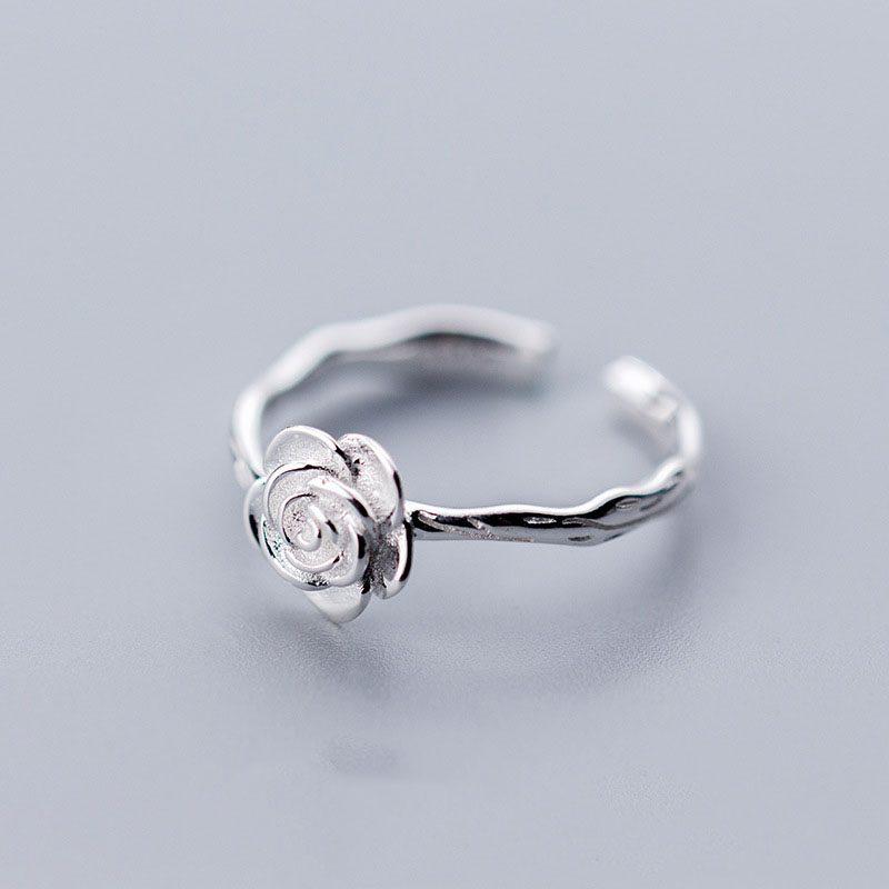 Каблучка Срібна Роза недорого