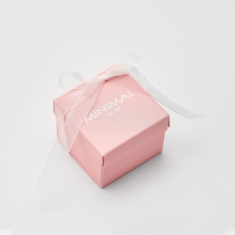 Кольорова коробочка (рожева) купить