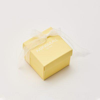 Кольорова коробочка (жовта) недорого