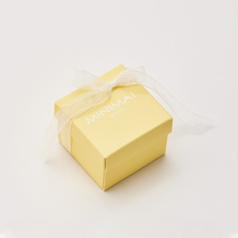 Кольорова коробочка (жовта) купить