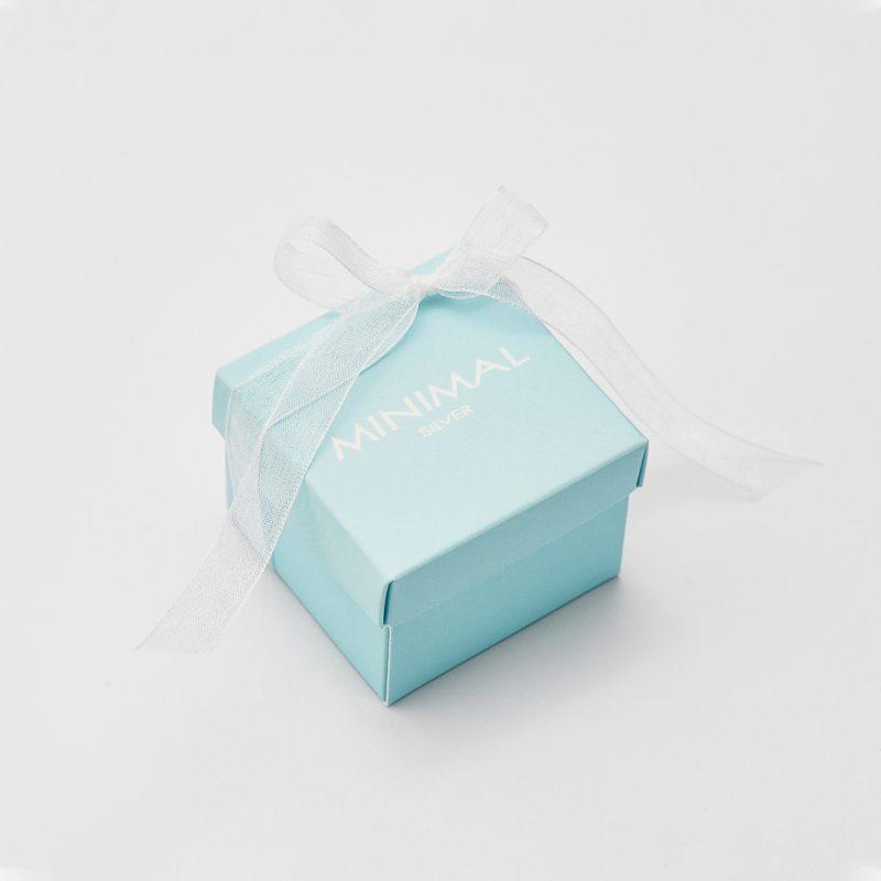 Кольорова коробочка (блакитна ) купить