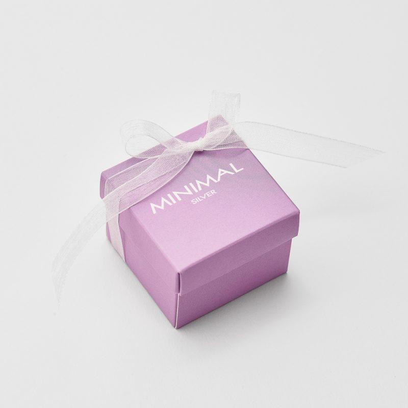 Кольорова коробочка (фіолетова) недорого