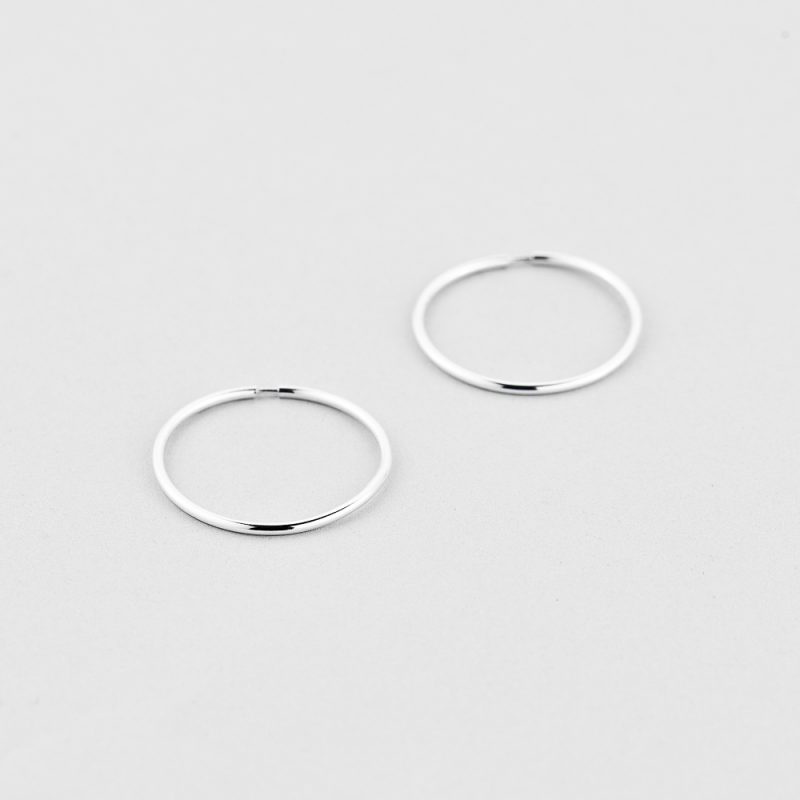 Сережки Круг (20мм) недорого