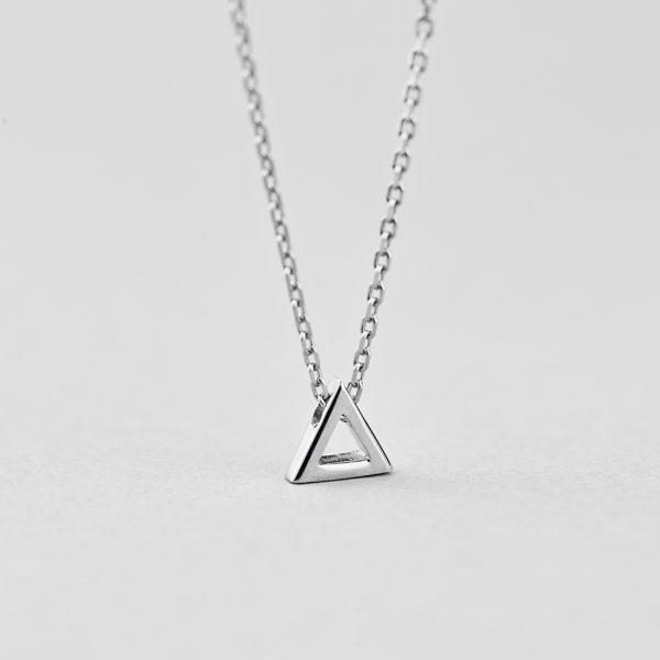 Подвеска Изящный Треугольник недорого