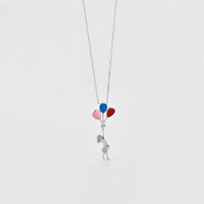 Підвіска Дівчина з кульками купить