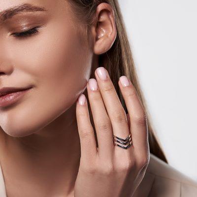 Кольца - Кольцо Три Линии