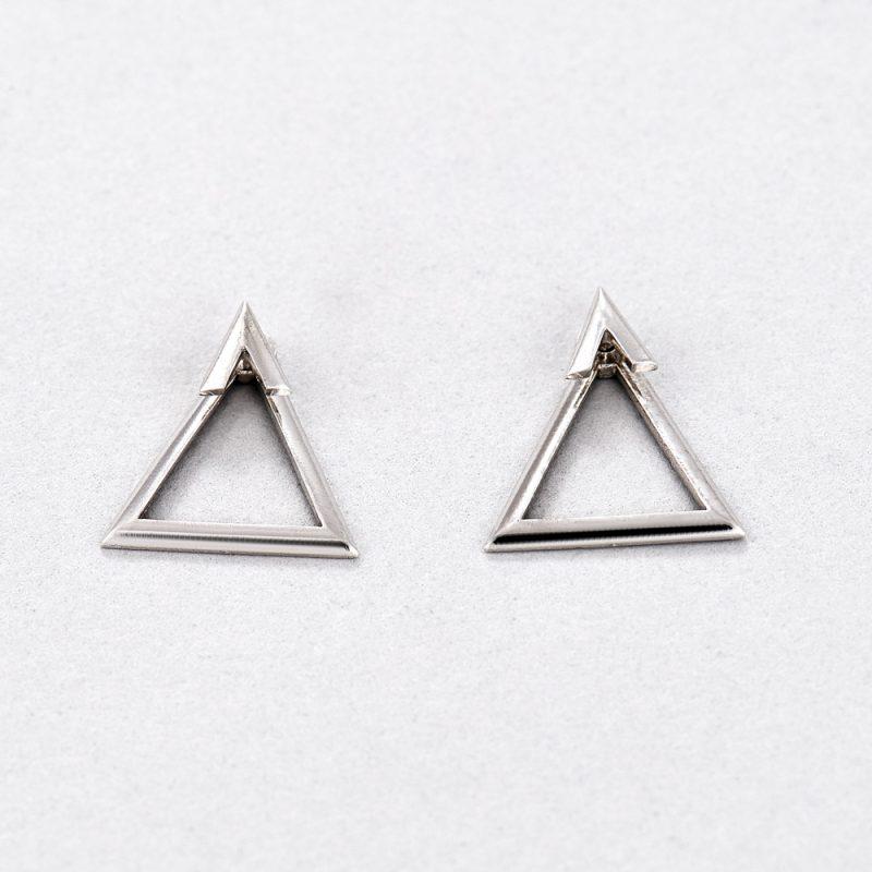 Серьги Треугольники недорого
