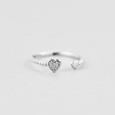 Кольцо Сердечки купить