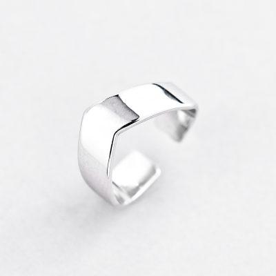 Кольцо Серебряная Линия купить
