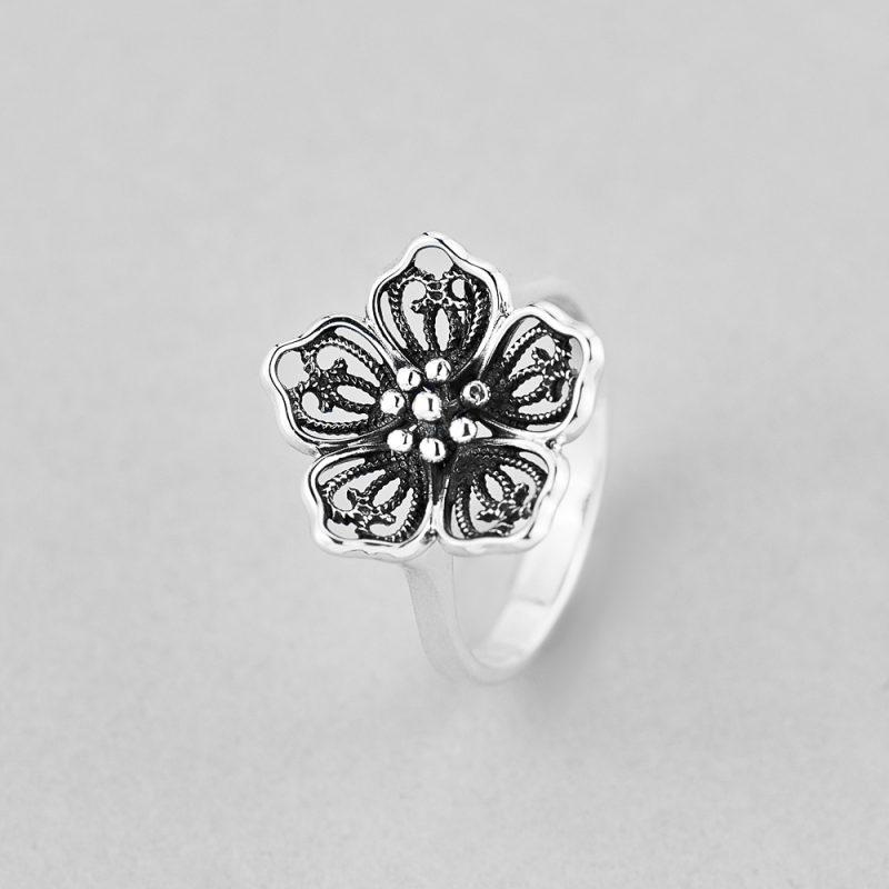 Кольцо Цветок купить