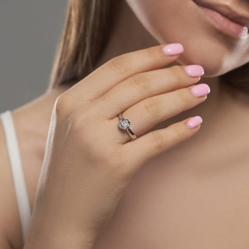 Кольцо Нежный Цветок недорого