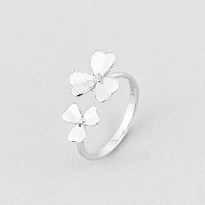 Кольцо Цветок Счастья купить