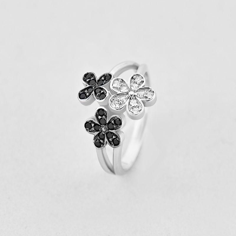 Кольцо Живописный цветок купить