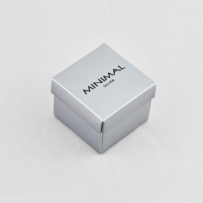 Кольорова коробочка (сіра) купить