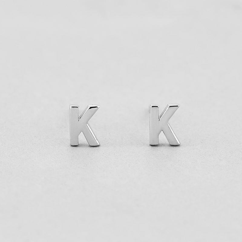 Сережки Letter K купить