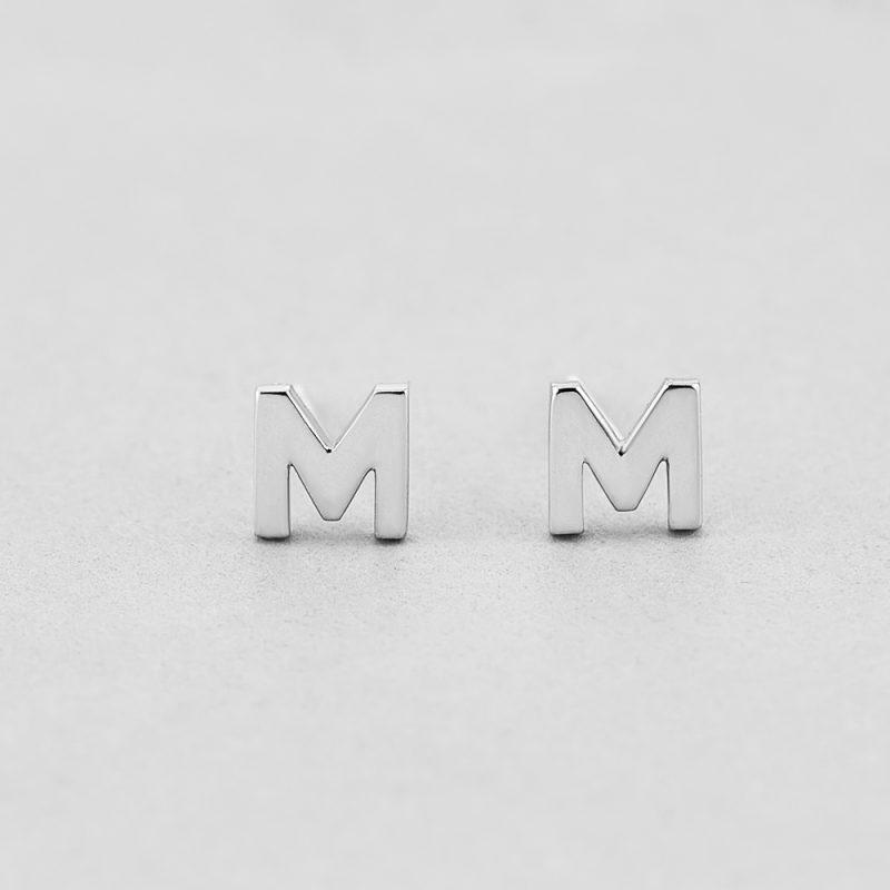 Сережки Letter M купить
