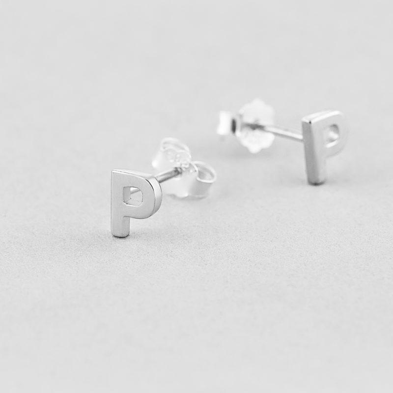 Сережки Letter P купить