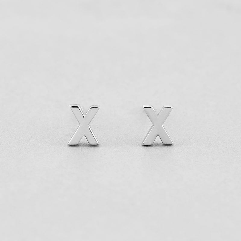 Сережки Letter X купить
